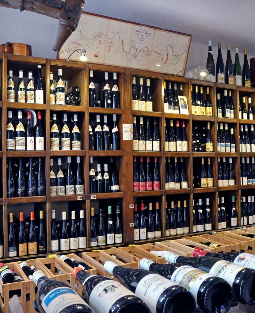Rieslinghaus - Unsere Vinothek